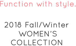 2018FW WOMEN'S COLLECTION